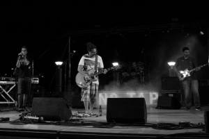 TObia Lamare & the Sellers at NOTAP festival in San Foca (LE)