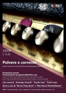 Psycho Sun live 19/09/2014 @ Casello KM97 Lecce-Novoli start h 21:30
