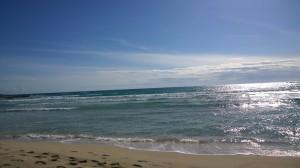 the beautiful sea near Lecce