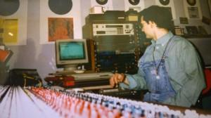 Nanni Surace recording Psycho Sun first album @ Pure ROck STudios- Brindisi 1995