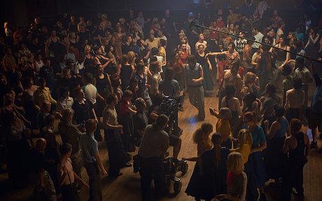 dance scene @ Wigan Casino in the movie